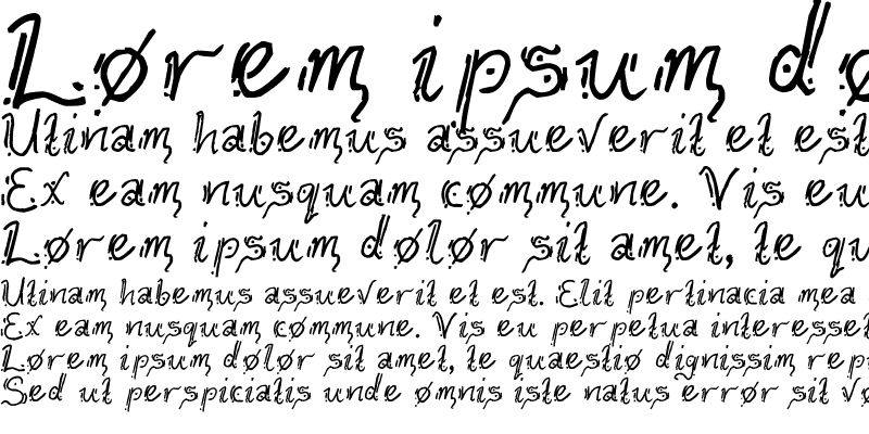 Sample of Geefium Serif