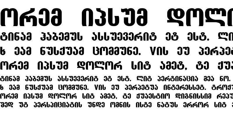 Sample of GEO-Groteski