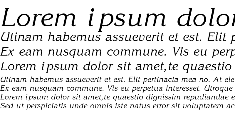 Sample of Gloria-SemiBold-Italic Regular