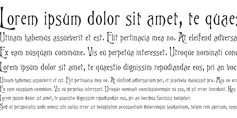 Sample of Glorietta Regular