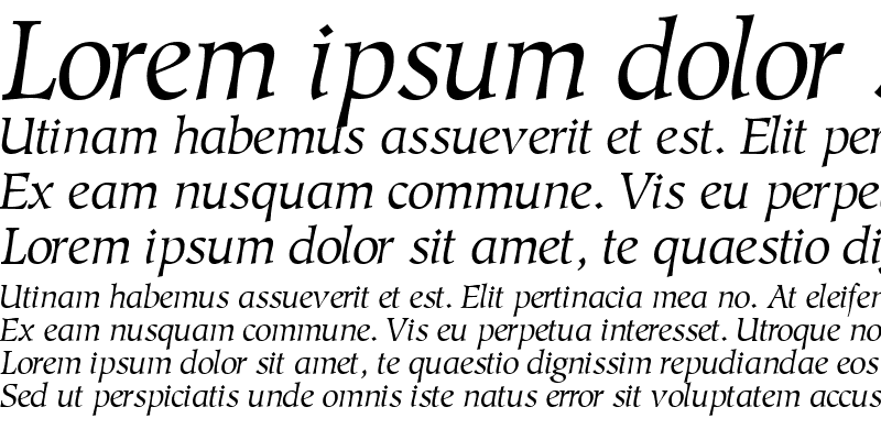 Sample of GlossarySSK Italic