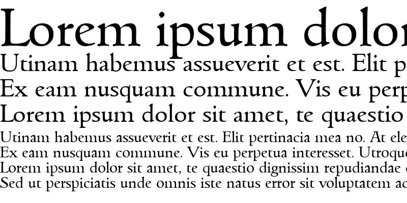 Sample of Goudita-Regular