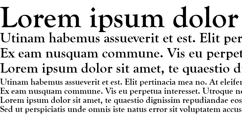 Sample of GoudyOldStyT Bold