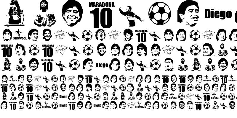 Sample of grande maradona