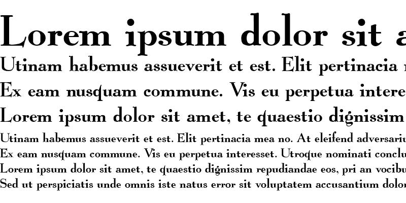 Sample of Graphic Regular