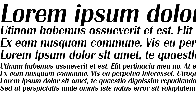 Sample of Grenoble-Serial-Medium RegularItalic