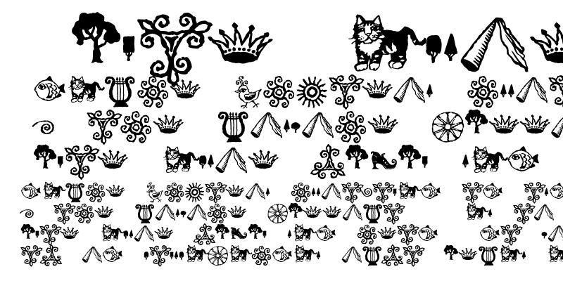 Sample of Greymantle MVB Ornaments Regular