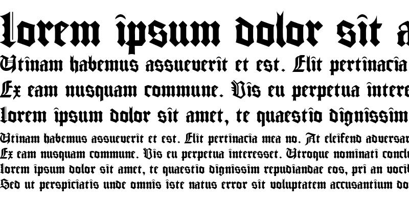 Sample of Gudenberg DB