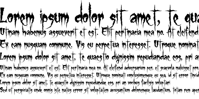 Sample of Gypsy Curse Regular