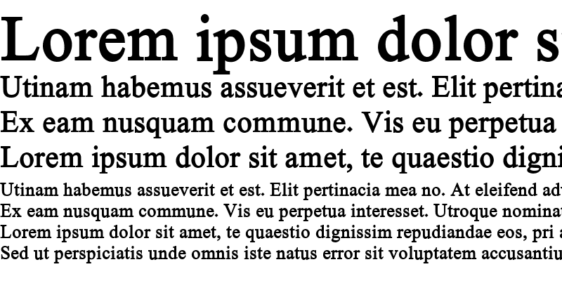 Sample of Hacen Typographer Bold Regular