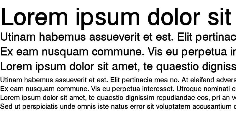 Sample of Hacen Typographer Book Regular
