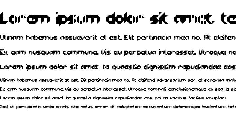 Sample of Half Project Logo Regular