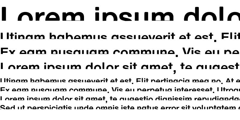 Sample of HalfEnough Bold