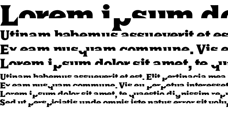 Sample of HalfsAreEnoughLatin Regular