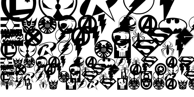 Sample of Hall of Heroes