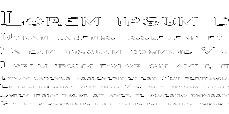 Sample of Halo Outline