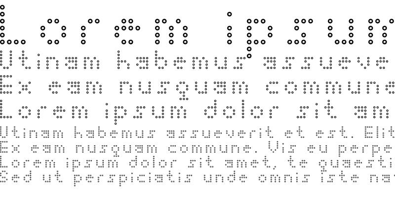 Sample of Happy Dots