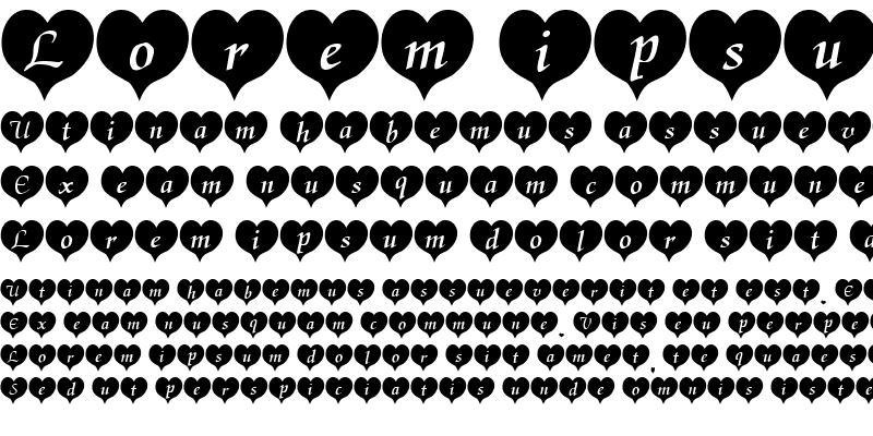 Sample of HeartBlack Becker