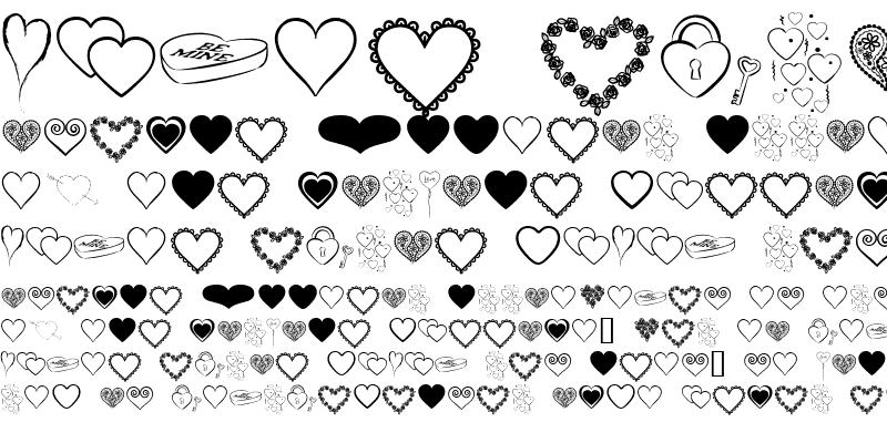 Sample of Hearts BV