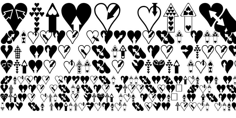 Sample of Hearts n Arrows