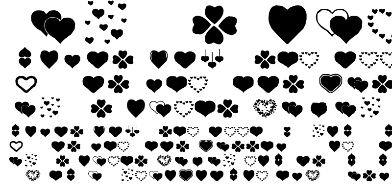 Sample of Hearts