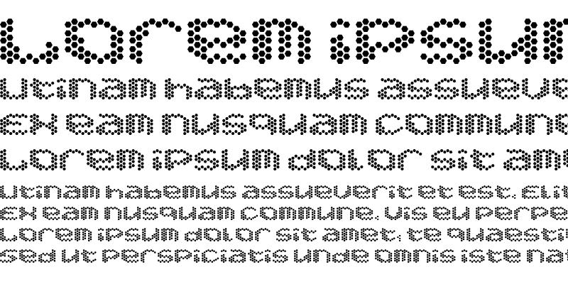 Sample of Hexaglamorous