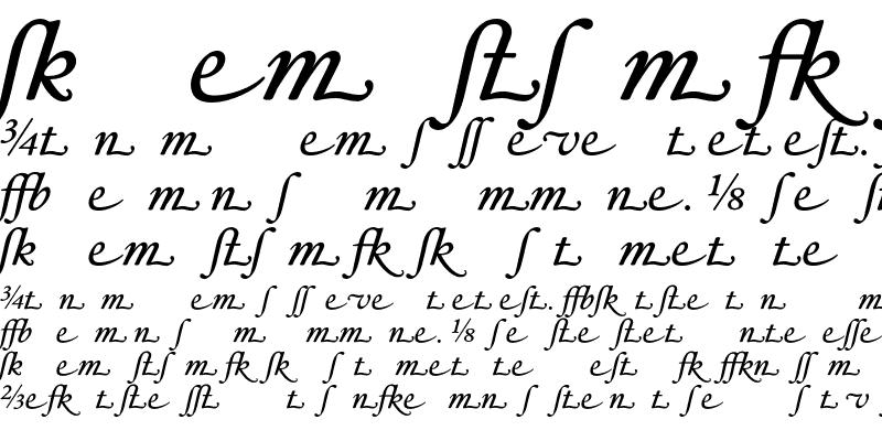 Sample of HoeflerText-Italic-Alt