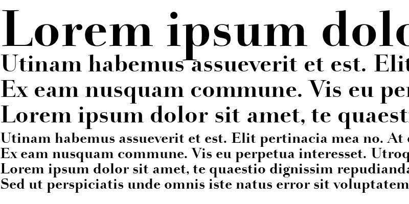 Sample of Holmen-Bold