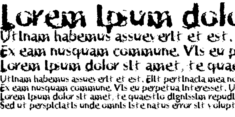 Sample of Horrendous Regular