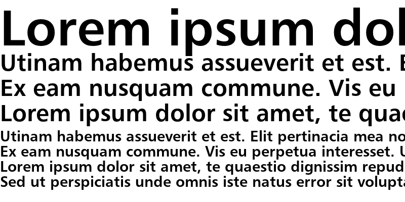 Sample of Humanist 777 Bold