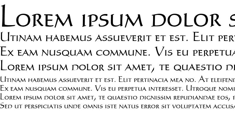 Sample of Humanist Medium