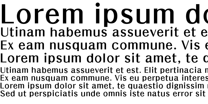 Sample of HYGraphic-Bold
