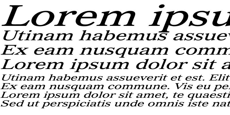 Sample of Imperium Ex Italic