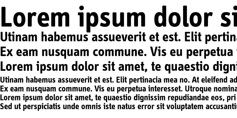 Sample of InfoDispBoldTf Roman