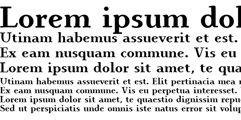Sample of IngrianEuroikaH Bold