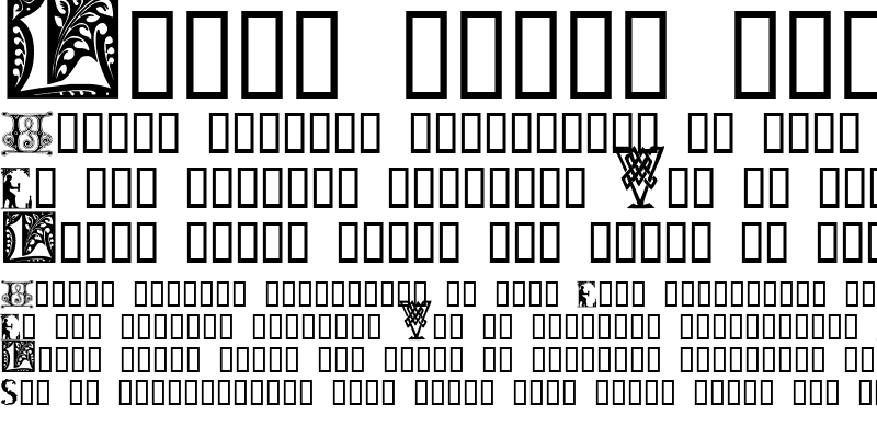 Sample of Initials