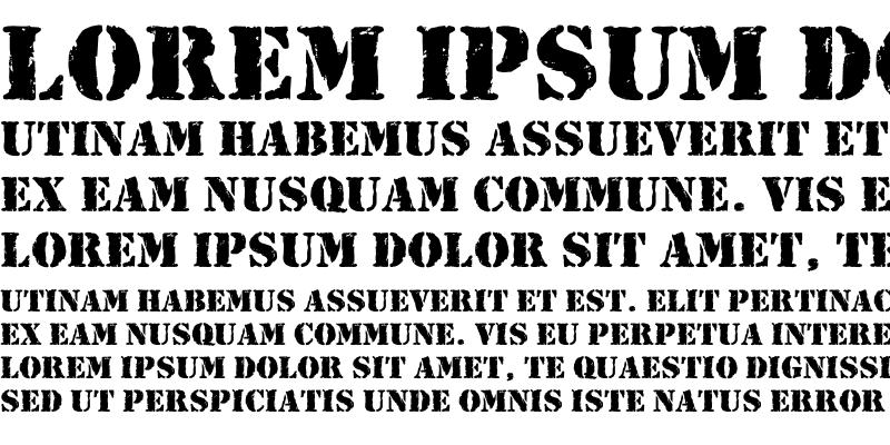 Sample of Ink Pad