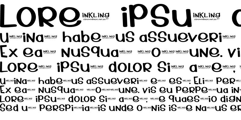 Sample of Inkling