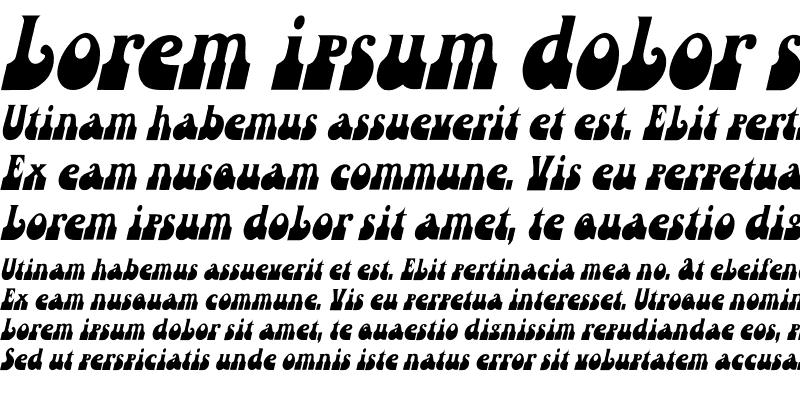 Sample of Inkwell Th Italic