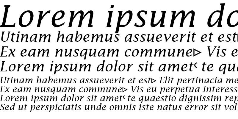Sample of Insight Math SSi Italic
