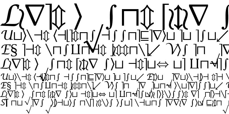 Sample of Insight Math Symbol SSi