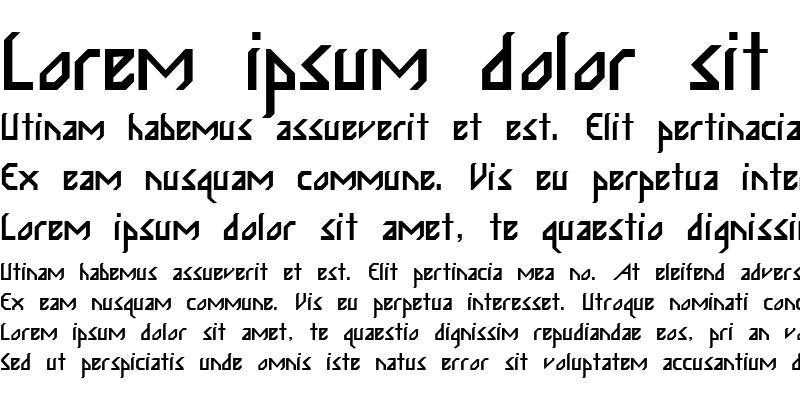 Sample of ISABELITA Regular