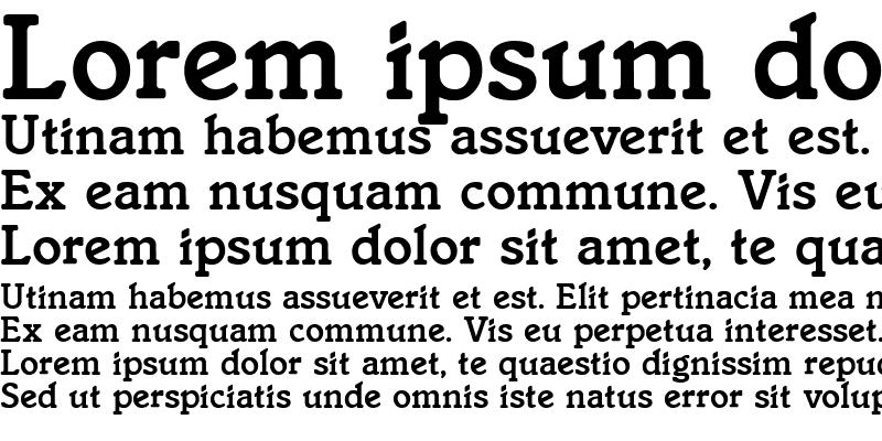 Sample of Italia Medium