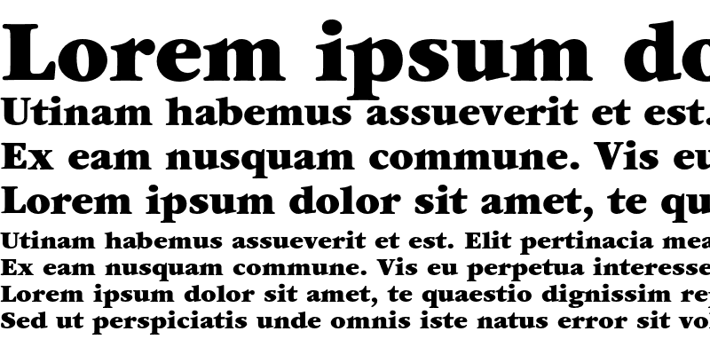 Sample of ITC Garamond Ultra Regular