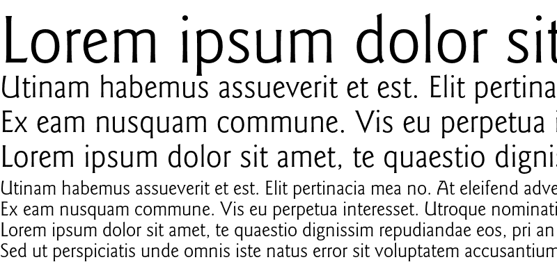 Sample of ITC Goudy Sans LT Book Regular