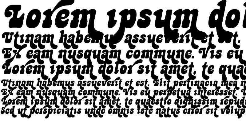 Sample of Jackpot Sweep Italic