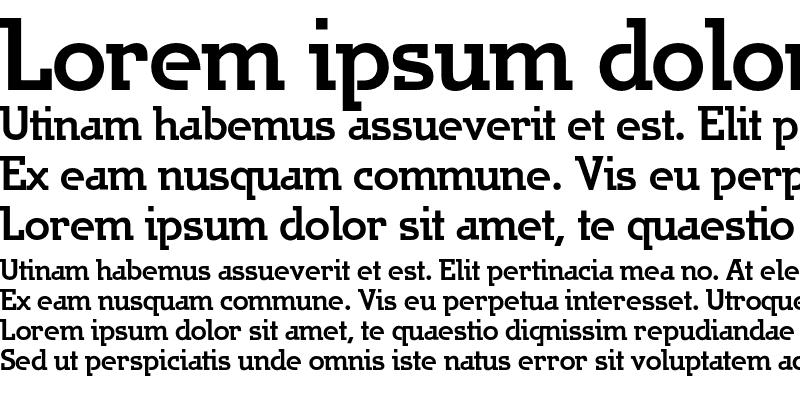 Sample of JargonA-Bold