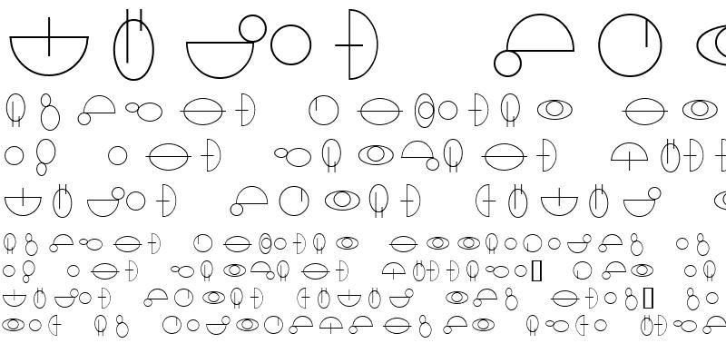 Sample of Jedi Symbol
