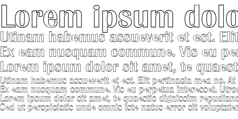 Sample of JesseBeckerOutline-Medium