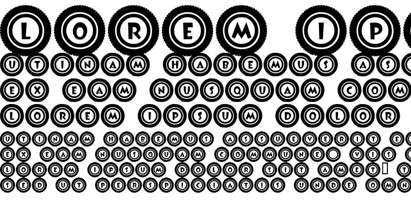 Sample of JLR Li'l Bit Tires Regular